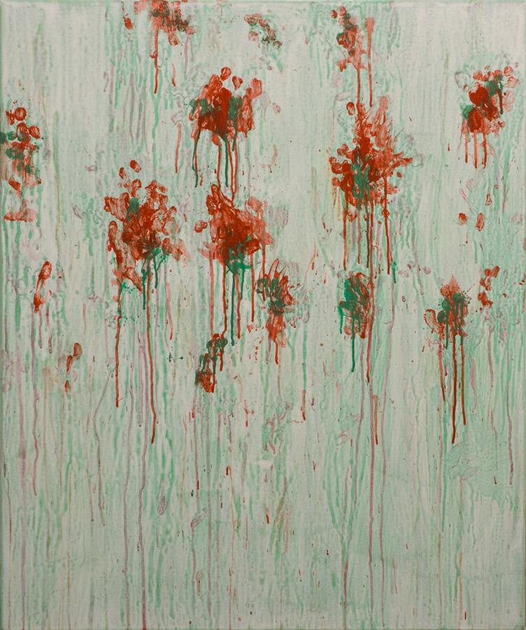 Eric Hirdes 120x100 cm acryl on canvas 2016