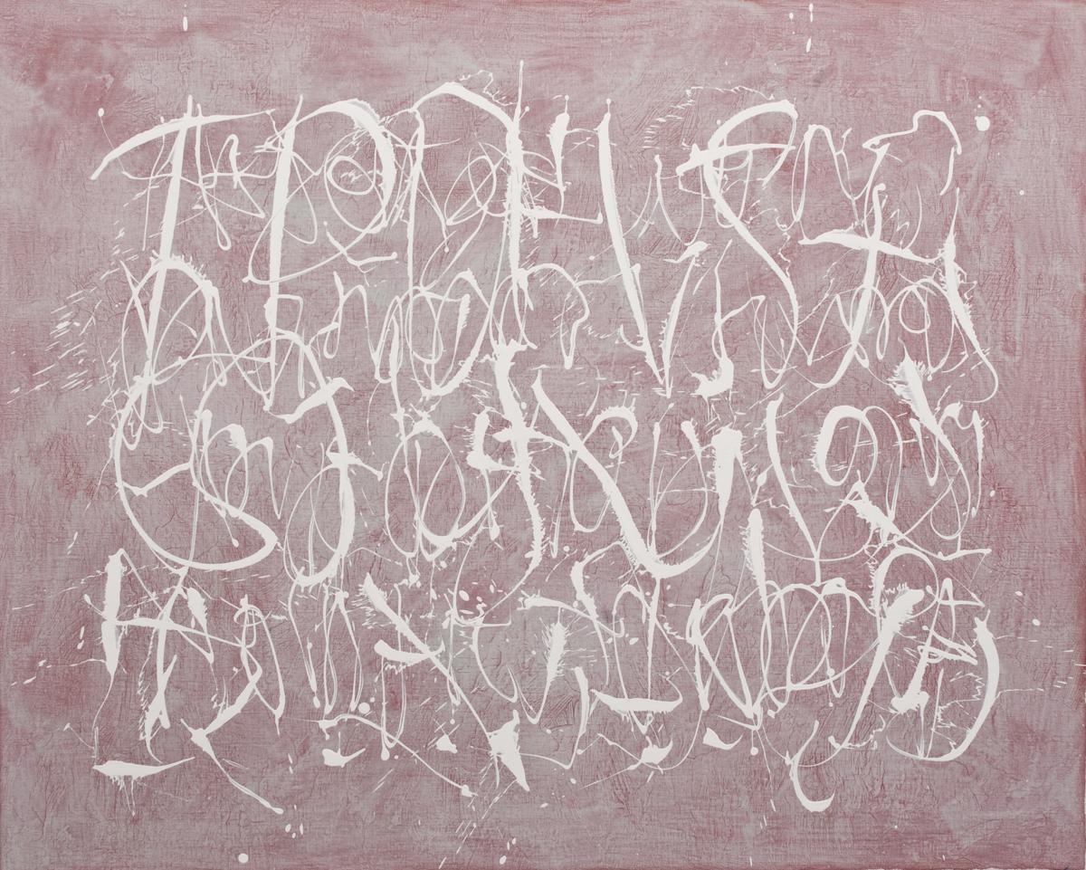 Eric Hirdes 120 x 150 cm acryl on canvas 2015