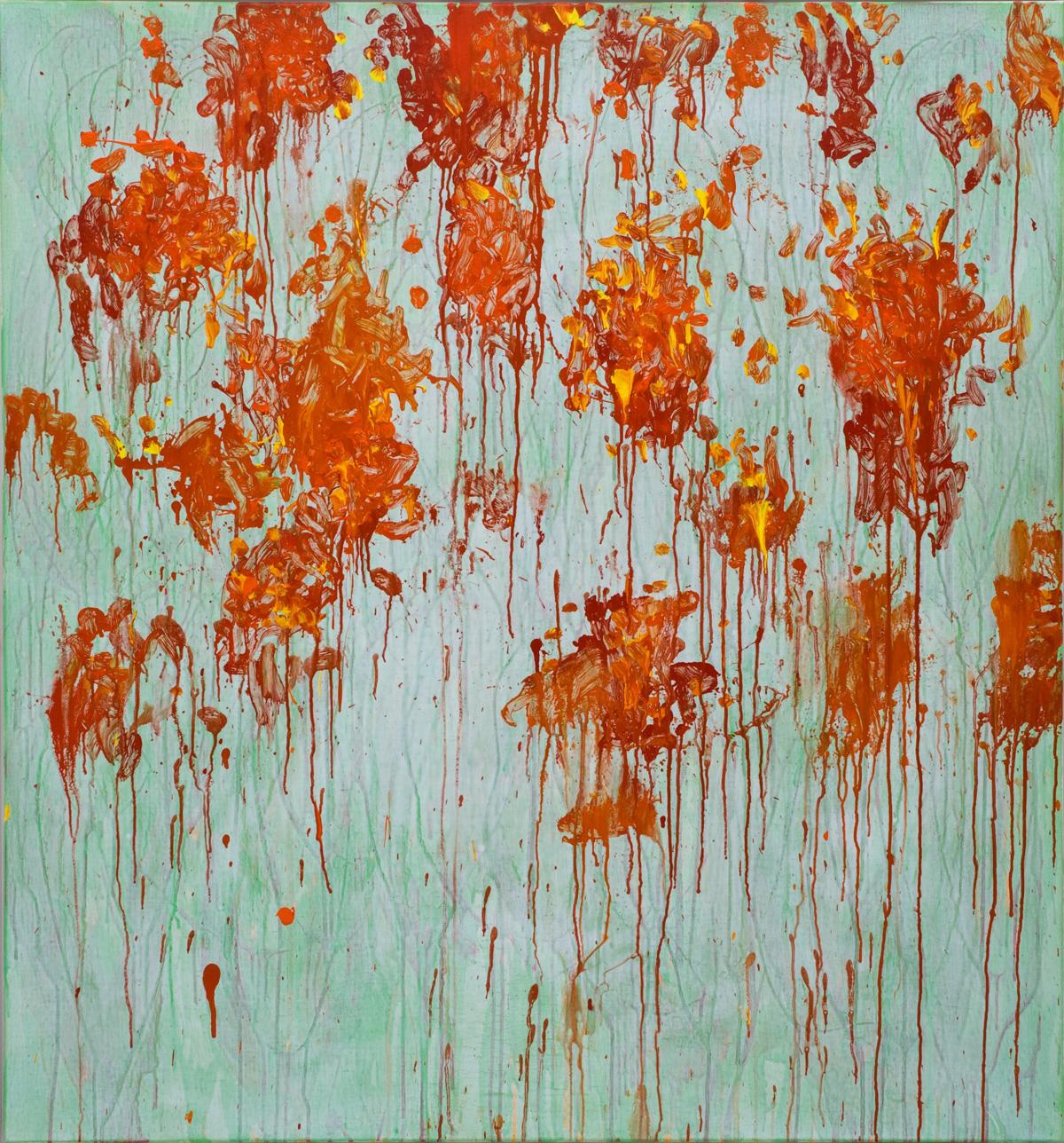 Eric Hirdes 150x140 cm acryl on canvas 2016