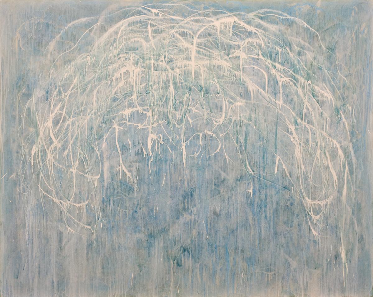 Eric Hirdes 160 x 200 cm acryl on canvas 2015 Sold
