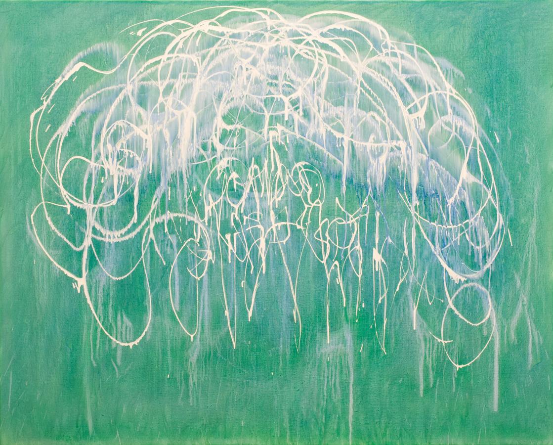 Eric Hirdes 160 x 200 cm acryl on canvas 2015