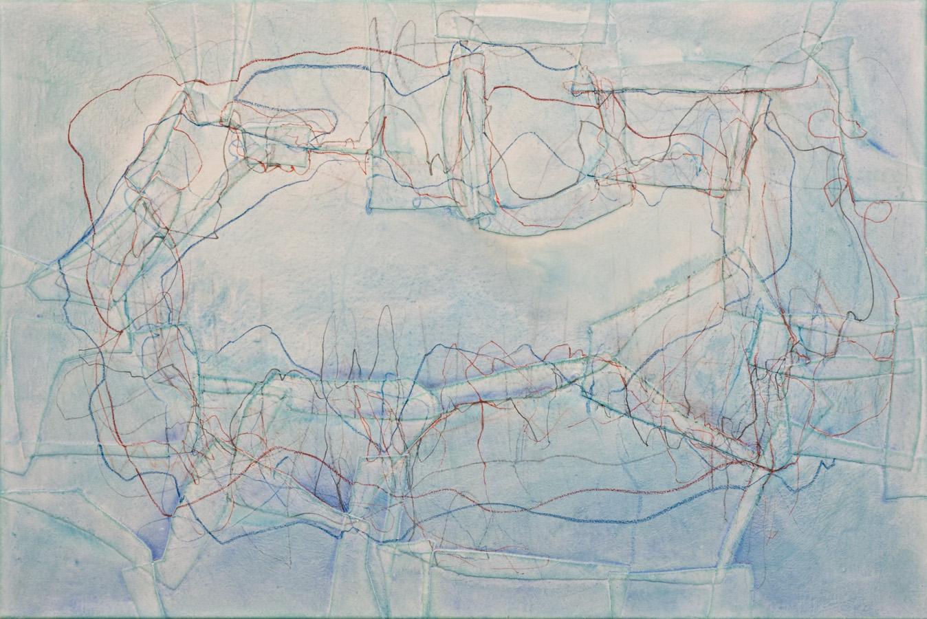 80 x 120 cm mixed media on canvas 2016