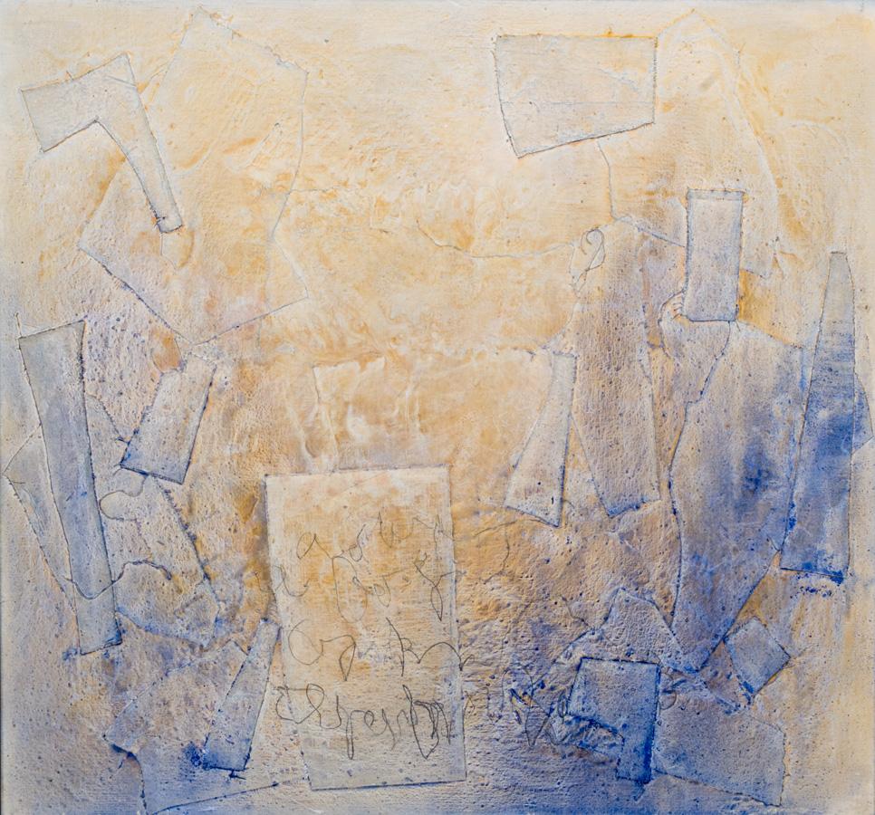 140x150 cm mixed media on canvas 2016